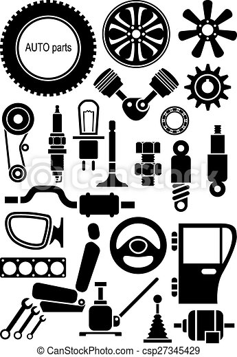 Auto Parts Stock Illustration Images 13726 Auto Parts