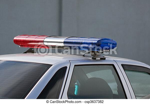 Polizeiauto - csp3637382