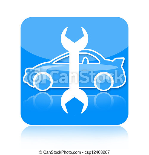 Auto repair icon - csp12403267