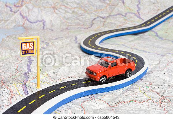Auto, schaltplan. Spielzeug, benzin, auto, ausstellung, schaltplan ...