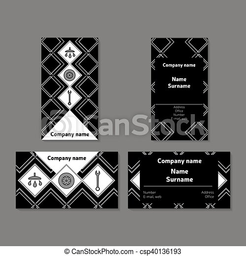 Auto service and repair car poster outline style vector design for outline style vector design for business cards banners colourmoves