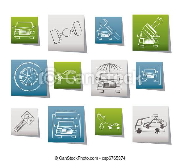 auto service and transportation  - csp6765374