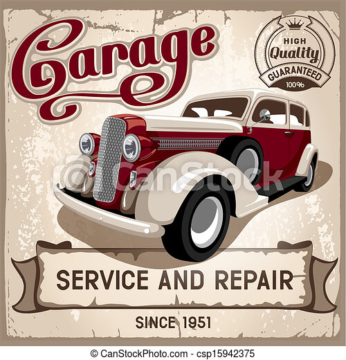 Auto service  - csp15942375