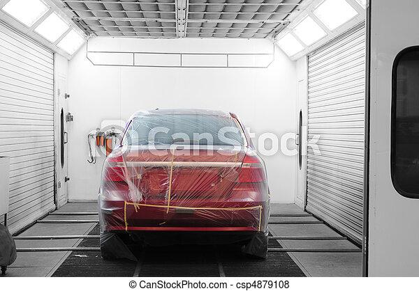 Auto shop - csp4879108
