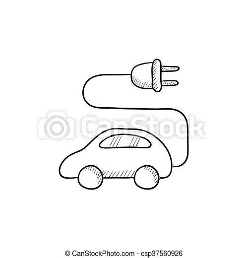 Schön Wie Man Auto Skizziert Ideen - Elektrische ...