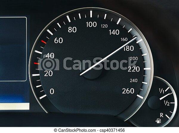 auto, snelheidsmeter - csp40371456