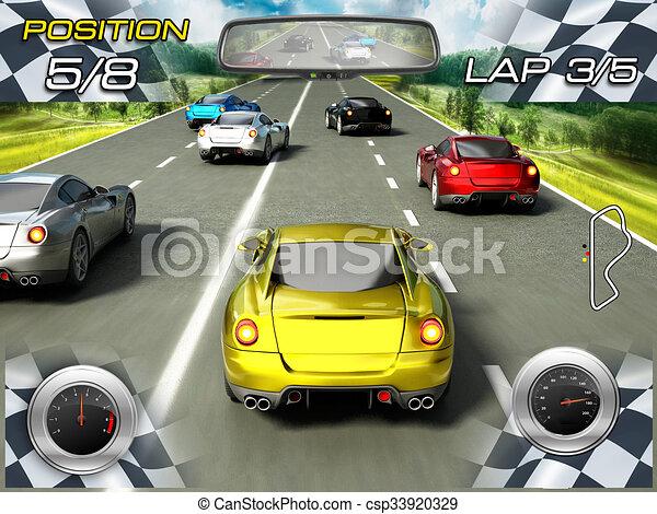 auto spiel rennsport video
