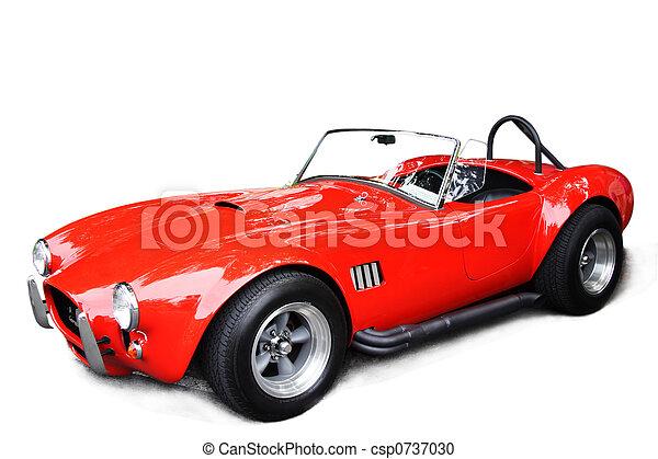 auto, sportende, classieke - csp0737030
