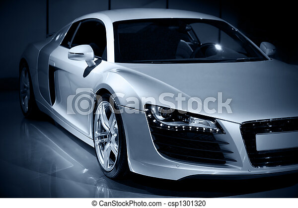 auto, sportende, luxe - csp1301320