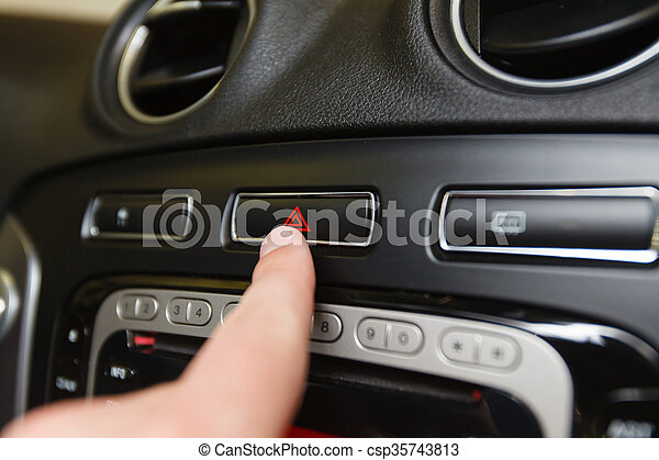 Armaturenbrett auto  Auto, taste, armaturenbrett, notfall. Notfall, dof)., auto, taste ...