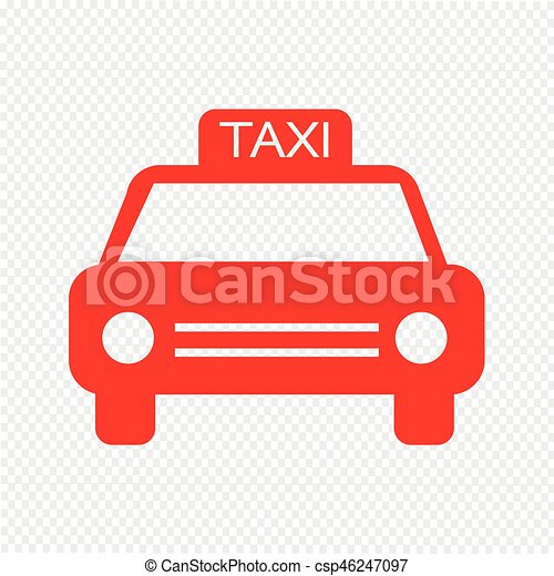 auto, vector, illustratie, pictogram - csp46247097