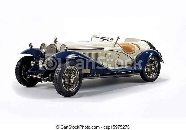 auto, vermindert, model - csp15975273
