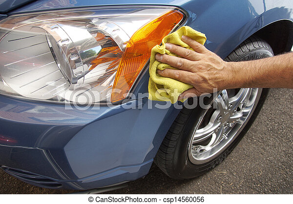 Autopflege - csp14560056