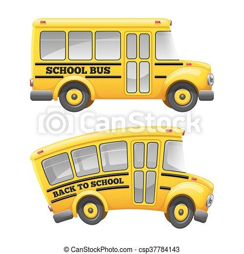 autobús, escuela - csp37784143