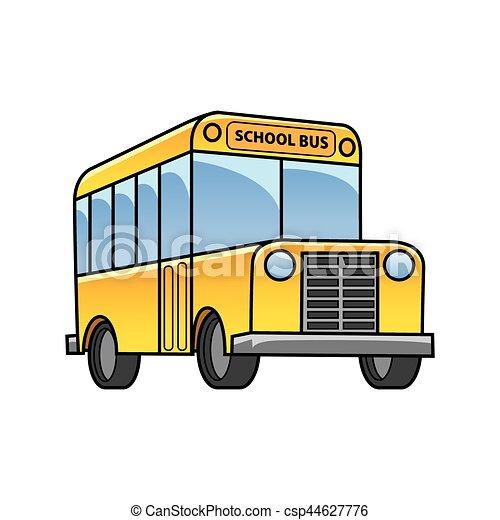 El autobús escolar - csp44627776