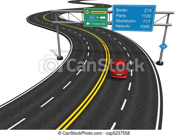 Autobahn concept - csp5237558