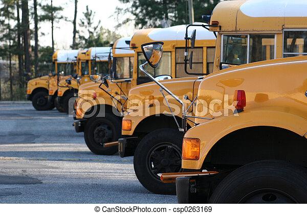 autobus école - csp0263169