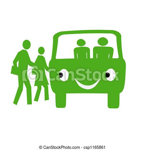autobus, amical - csp1165861