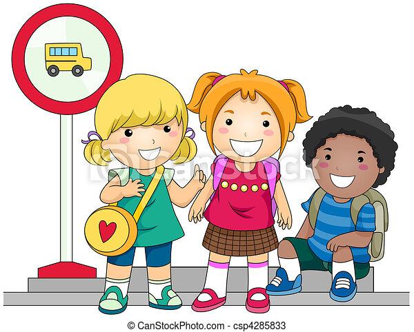 Autobus attesa scuola bus scuola ritaglio attesa for Scuola clipart