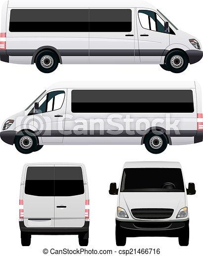 autobus, bianco - csp21466716