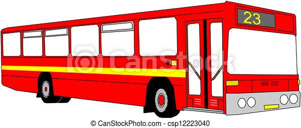 Autobus  - csp12223040