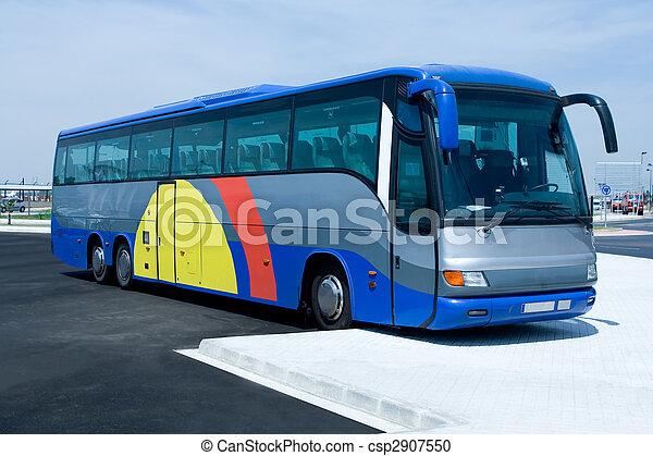 autobus, tour - csp2907550