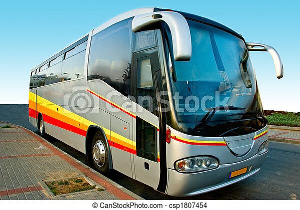 autobus, tour - csp1807454