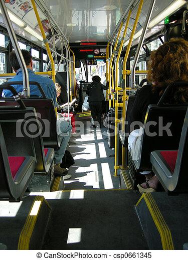 autobus, transit, ville - csp0661345