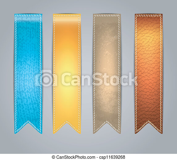 autocollants, coloré, textured - csp11639268