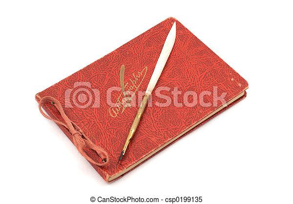 Autograph Book - csp0199135