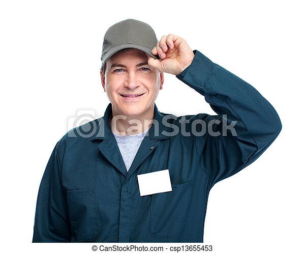 automóvil, mechanic. - csp13655453
