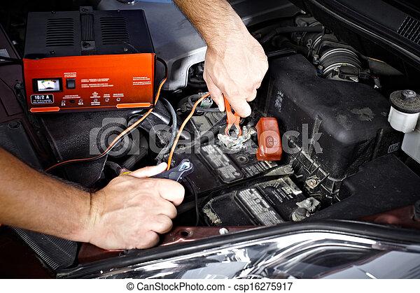 automóvil, mechanic. - csp16275917
