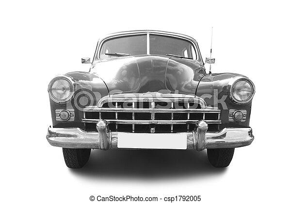 automóvil, retro - csp1792005