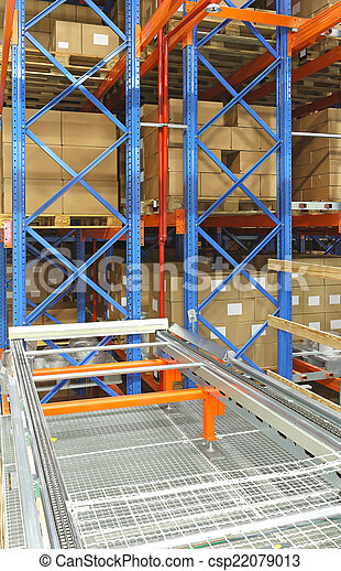 Automated distribution warehouse - csp22079013