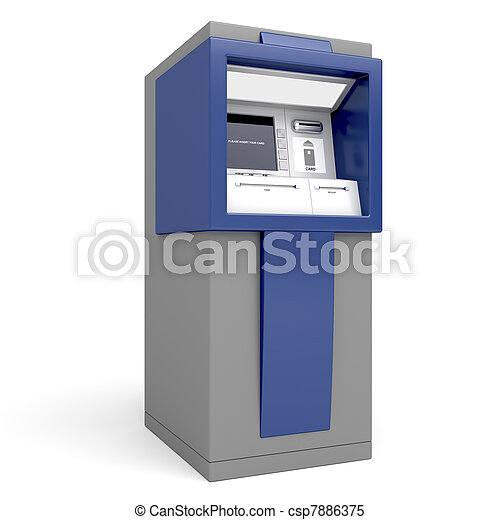 Automated teller machine - csp7886375