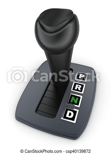 Automatic Gearbox Car Done In 3d