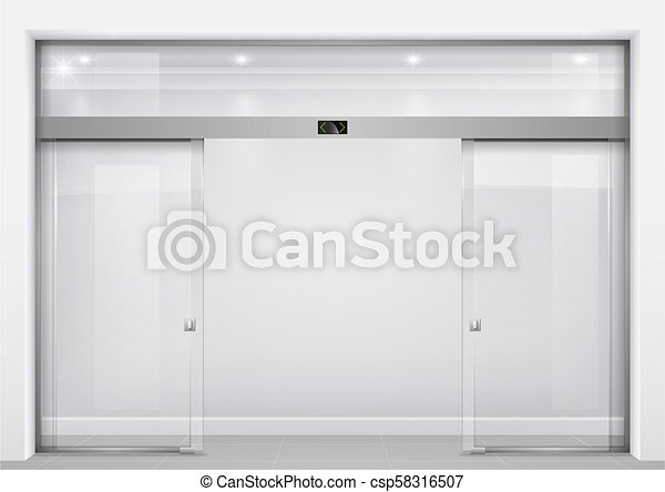 Automatic Glass Doors Double Sliding Glass Doors With Automatic