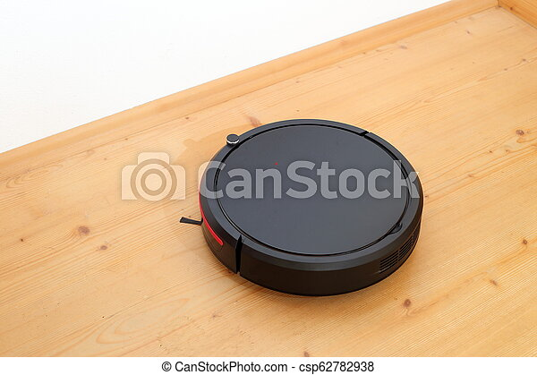 automatic robotic cleaner on ground - csp62782938