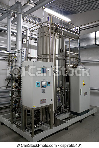 Automatic water filtration system - csp7565401