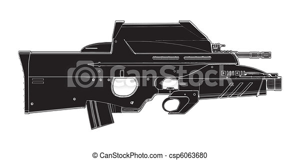 Automatic Weapon  - csp6063680