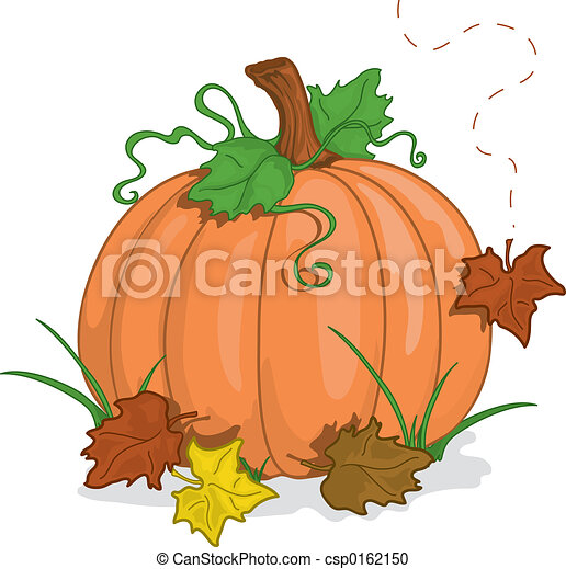 automne, citrouille - csp0162150
