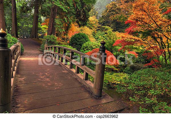 automne, pont - csp2663962
