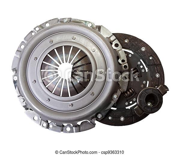 automobil, dele, -, automobilistisk, clutch - csp9363310