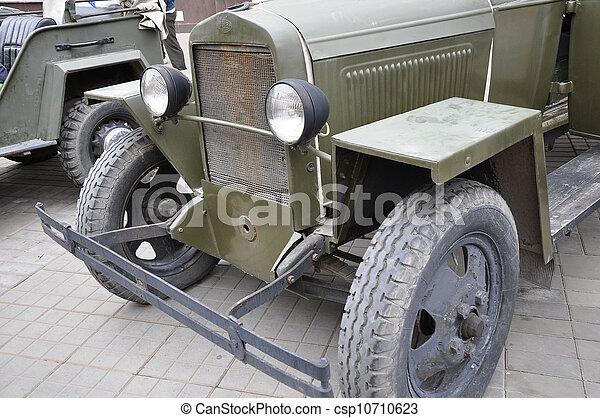 automobil, retro - csp10710623