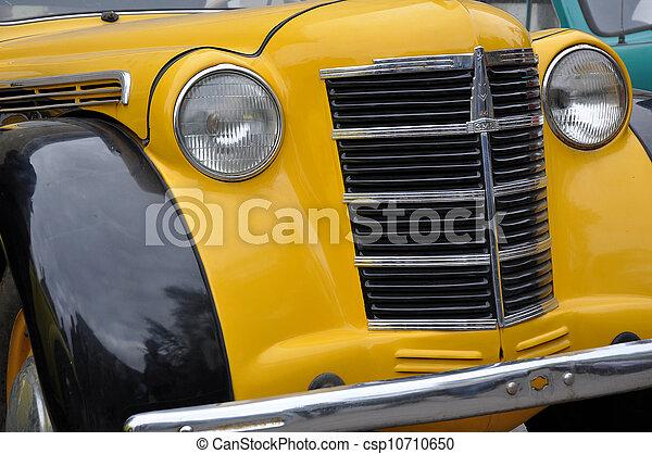 automobil, retro - csp10710650