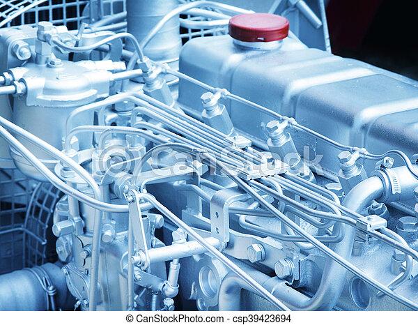 Automobile engine detail - csp39423694