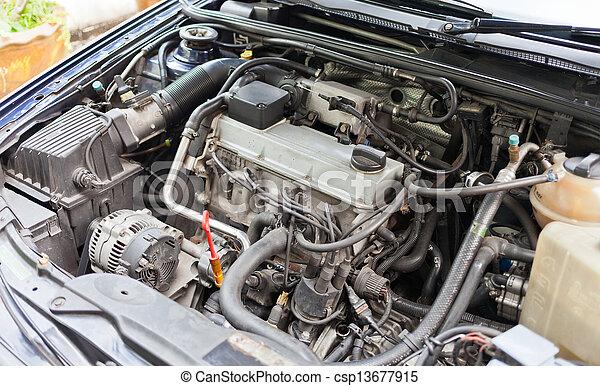 Automobile Engine - csp13677915
