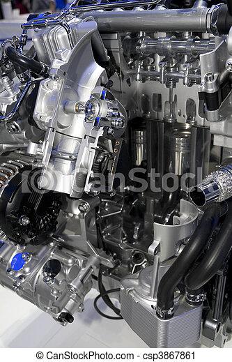 automobile engine - csp3867861
