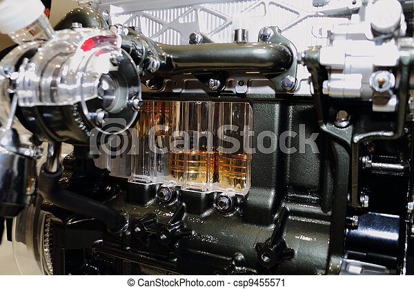 automobile engine - csp9455571