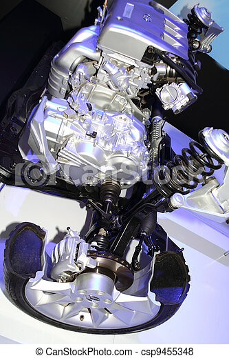 automobile engine - csp9455348